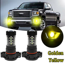 2*5202 H16 LED Fog Light Bulb Kit for GMC Yukon 2007-2016 Canyon 2015-2017 3000K