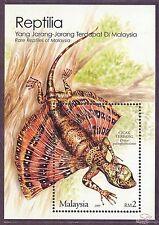 [SS] Malaysia 2005 Rare Reptiles M/S
