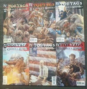 Mature Reader Complete 6 Comic Set: Toe Tags - DC Vertigo Horror 1998