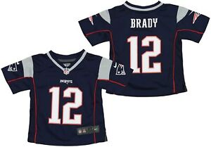 Nike NFL Infants New England Patriots Tom Brady #12 Game Day Jersey