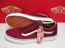Vans Old Skool 50th Port Royale Gold Men's Size: 10