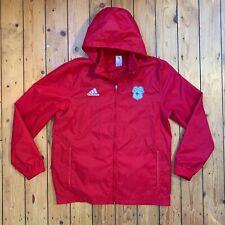 949062f6d Adidas Mens Size Large Red Windbreaker Rain Coat Cardiff City F.C.
