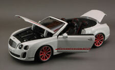 Bentley Continental Supersport Convertible ISR 2010 White 1:18 Model 11035W
