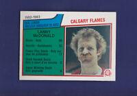 Lanny McDonald Goal Leader HOF 1983-84 O-PEE-CHEE Hockey #74 (NM+)Calgary Flames