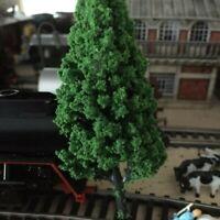 5pcs 10cm Bäume Modell Garten Zug Eisenbahn Architektonisch Szenerie Layout