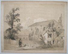 Lithograph Landscape Antique (Pre-1900) Art Prints