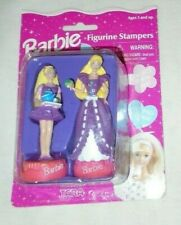 Vintage Collectible 1996 Tara Toys Barbie Kettle Gown Stampers 2 Figurines