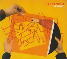 JAZZANOVA = remixed =2CD= ELECTRO NU JAZZ HOUSE DOWNTEMPO GROOVES !!