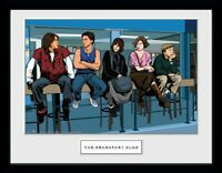 The Breakfast Club 1985 Illustration Collector Print Frame Poster Bild Rahmen
