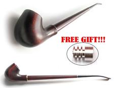 Long Tobacco Smoking Pipe Gandalf - Hobbit CHURCHWARDEN + Metal Filter-Cooler #3