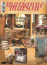 """MARIANNE MAISON N°98 RECUPERATION """"A L'ANGLAISE"""" / DES MEUBLES A REVETIR"""