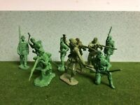Barzso Playset Rogers' Rangers Figures French Indian War 54 mm Lot of 9