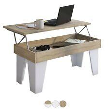 Mesa de centro elevable comedor salón, mueble auxiliar, mesita cafe, KL
