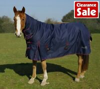 SALE Rhinegold Aspen Full Neck Combo Horse Turnout Rug Heavy Weight 350g Fill