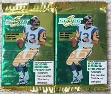 2000 SCORE NFL Football Trading Cards Hobby Pack X6