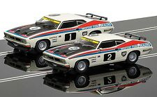 C3587A Scalextric Slot Car Touring Car Legends Ford XB Falcon Twin Pack Boxed UK