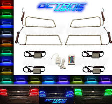 03-06 Chevy Silverado Multi-Color Changing Shift LED RGB Headlight Halo Ring Set