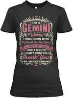 Im A Gemini Woman T , Mug - I'm I Was Born With My Gildan Women's Tee T-Shirt
