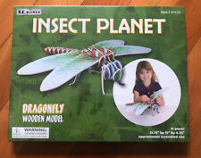 B.C. BONES INSECT PLANET DRAGONFLY WOODEN MODEL NIB AGES 5+