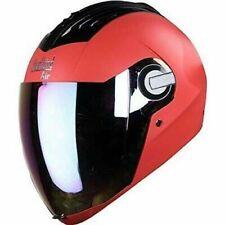 Steelbird Air SBA-2 Full Face Motorcycle Helmet Safe Stylish Red Rainbow @CA
