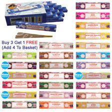 ❤️ SATYA Incense Sticks Genuine Nag Champa Insence Joss Fragrance 15g Mix Match