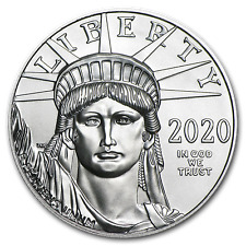 2020 US Mint 1 oz Platinum American Eagle $100 Coin BU