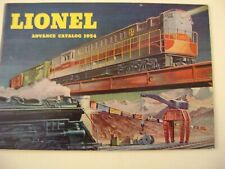 Lionel 1954  Advance Catalog  mint
