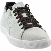Puma Clyde Gcc Lace Up  Mens  Sneakers Shoes Casual   - White - Size 5 D
