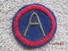 WWI US Army Third Army patch 3rd Army AEF wool