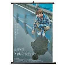 Kpop BTS Bangtan Boys V Love Yourself Hanging Painting Art Painting Poster