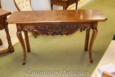 Console Francese legno di ciliegio tavolo mobili casa colonica