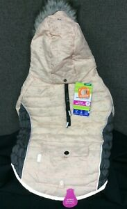 Top Paw Dog Pink/Gray Puffer Coat Reflective~ Choice of XS,S,M,L,XL,XXL~ NEW!