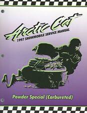 1997 Arctic Cat Powder Special (Carbureted) Service Manual 2255-529
