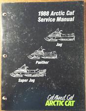 1988 Arctic Cat Jag, Panther, Super Jag, Service Manual # 2254-452