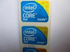 Intel Core 2 Duo Sticker Bleu Blue 7x Pièce PC Autocollant Label nouveau logo neuf