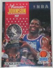 1992/93 Magic Johnson LA Lakers NBA Basketball Skybox All-Star MVP Card #310 NM
