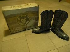 ROAD WOLF BOOTS, STOCK# 1057, LEATHER, SIZE 9, MENS BOOTS