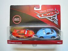 Mattel Disney Cars 3 Lightning McQueen Sally (h5n)