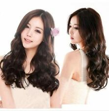 OUJF10356 new cosplay style long brown curly fashion Hair Wig wigs for women