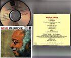 33C38-7481 JAPAN- Count Basie- Live In Europe 1970s France? CD (Freddie Green)