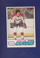 Gordie Lane RC 1977-78 O-PEE-CHEE OPC Hockey #287 (EXMT) Washington Capitals