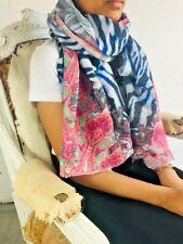 Vendeur Britannique//livraison Rapide * Chic Central Rose Cachemire Écharpe Pashmina Châle Wrap