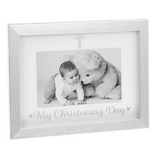 "My Christening Day Baby Silver Photo Frame 6 x 4"" Gift Box"