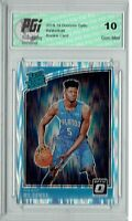 Mo Bamba 2018 Donruss Optic #160 Shock SP Rookie Card PGI 10