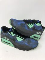 NIKE Air Max 90 Essential Sneakers Shoes Mens Galaxy Size 10.5 Blue 537384-017