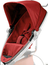 Quinny Zapp Xtra 2 Spare Replacement Fabric Seat & Hood in Red Rumour  *NEW*