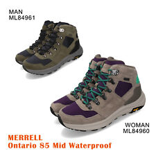 Merrell Ontario 85 Mid Waterproof Outdoors Hiking Shoes Boots Pick 1