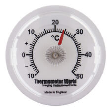 WALL THERMOMETER 65 MM DIAL ROOM TEMPERATURE GAUGE CAR OFFICE GARAGE DESK IN-038