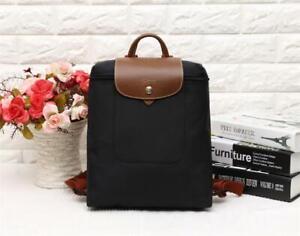 NEW Authentic Longchamp Le Pliage 1699 Nylon Zipper Black Backpack Bag