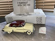 New ListingFranklin Mint 1950 Chevrolet Bel Air Hardtop 1:24 Diecast in Box
